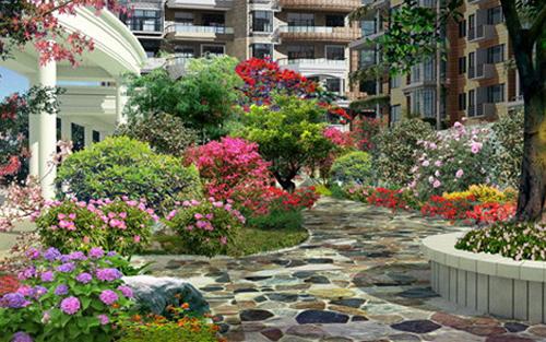 景观设计知识_如何利用植物的色彩进行造景