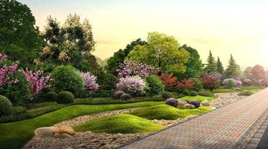 园林景观知识_道路平面设计的一般设计标准
